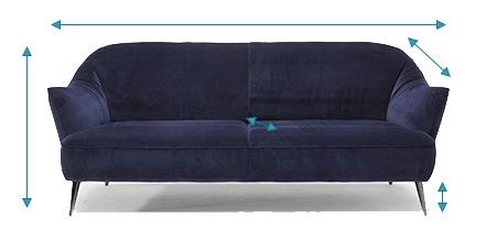 choose a sofa dimension
