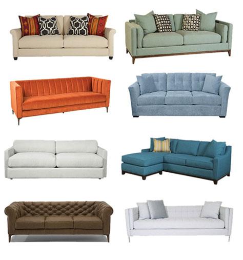 some sofa styles